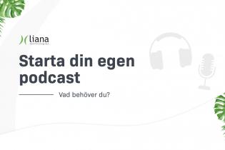 Hur startar man en podcast? + [Infography]