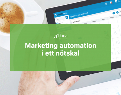 Whitepaper: Marketing automation i ett nötskal