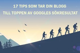 Blogg SEO: 17 tips för att ranka din blogg högre på Google (med konkreta exempel)